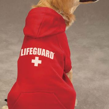 Lifeguard Sweatshirt for Dogs and Cats