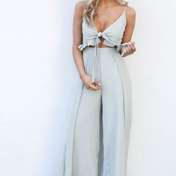 This Kiss Olive Jumpsuit