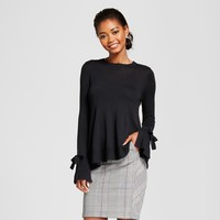 Women's Relaxed Bell Sleeve Any Day Pullover Sweater - A New Day™