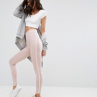 ASOS Leggings with Contrast Binding at asos.com