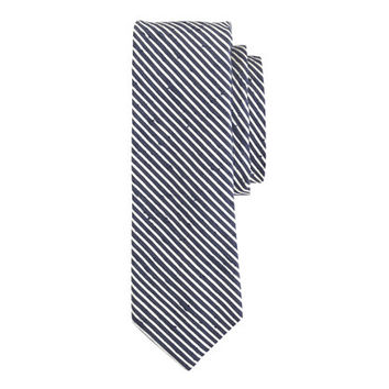 J.Crew Mens Textured English Silk Tie In Microstripe