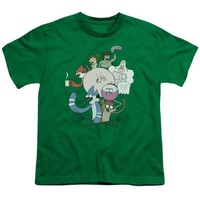 Regular Show Regular Cast Youth T Shirt