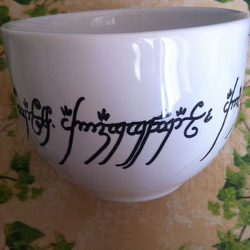 Lord of the Rings X-Large Mug