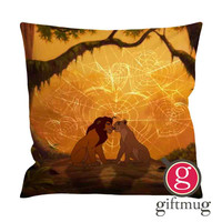 Simba and Nala The lion king Cushion Case / Pillow Case