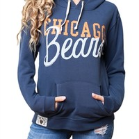 Chicago Bears Womens Hoodie Sweatshirt | SportyThreads.com