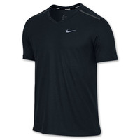 Men's Nike Dri-FIT Touch Tailwind Running V-neck T-Shirt
