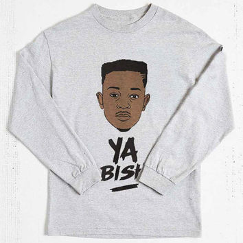 KENDRICK LAMAR Ya Bish long sleeved on Size : S-3Xl , heppy new year in 2015.