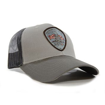 Gadsden Patch Structured Low Pro Mesh Hat by Southern Fried Cotton