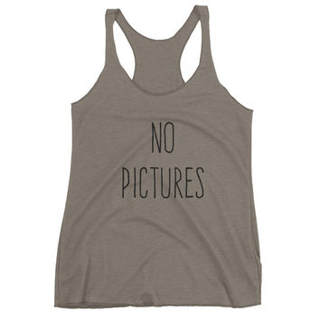 No Pictures Women's tank top