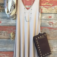 Keep it Casual Dress: Mocha