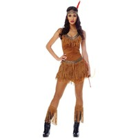 Native American Maiden Halloween Costume Size Small