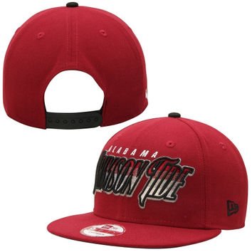 Alabama Crimson Tide New Era Transfade 9FIFTY Snapback Adjustable Hat –