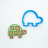 Modern Turtle Cookie Cutter