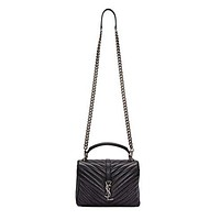 Ysl. Ms. red handbag single shoulder bag. YSL bag