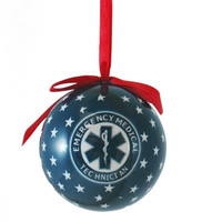 EMT Styrofoam Ball Christmas Ornament