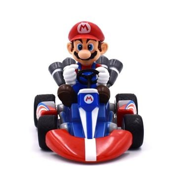 ... 47f58 eec44 Super Mario party nes switch Bros Kart Pull Back Car  Figures 13 stable quality ... 068bab691930