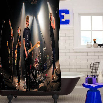 5 second of summer Shower Curtains custom shower curtain