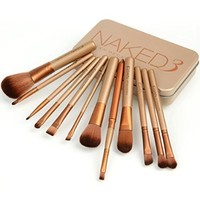 Amazon.com: 12pcs UD Top Grade Professional Cosmetic Makeup Brush Set Facial Cosmetics