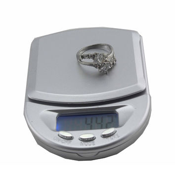 500g / 0.1g Digital Pocket Scale Kitchen Household Scale Precision Scale