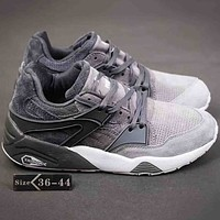Puma Suedes Women Men Trending Casual Running Sports Sneakers Shoes Grey G-A-YYMY-XY