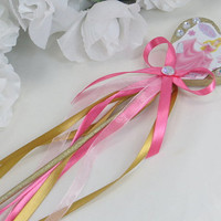 Princess Aurora Wand - Sleeping Beauty Costume Accssories - Disney Princess Costume - Costume Accessories - Princess Dress Up - Toddler Gift