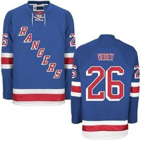 2017 New #26 Jimmy Vesey Jersey New York Rangers Jerseys Royal Blue White 85th Navy NY Rangers Hockey Jerseys Name and Number All Stitched L