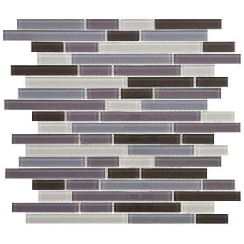 Merola Tile, Spectrum Piano Regalia 11-3/4 in. x 11-3/4 in. x 4 mm Glass Mosaic Tile, GITSPREG at The Home Depot - Tablet