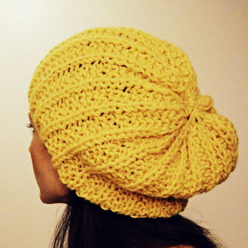 Woman's slouch hat Shaker by KittyDune on Etsy