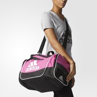 adidas Defender 2 Duffel Bag Small - Pink | adidas US