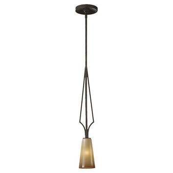 Murray Feiss El Nido 1 Light Mocha Bronze Mini Pendant - P1226MBZ