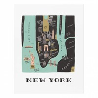 Manhattan Art Print by RIFLE PAPER Co. | Made in USA