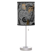 Steampunk Machinery (Full Colour) Table Lamp