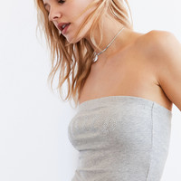 Juicy Couture For UO Gothic Crystal Jersey Knit Tube Top | Urban Outfitters