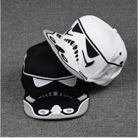 Star Wars Snapback Caps, Black or White