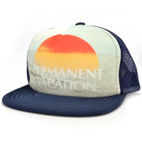 Howe Clothing | Howe - Permanent Vacation Trucker Hat » West Of Camden
