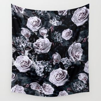 Dark Love Wall Tapestry by RIZA PEKER