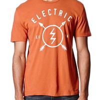 Electric Native T-Shirt - Mens Tee - Red