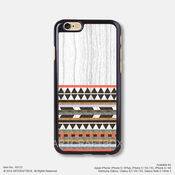 Aztec Design white wood iPhone 6 6Plus case iPhone 5s case iPhone 5C case iPhone 4 4S case 133