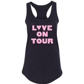 "Harry Styles ""Love On Tour"" Racerback Tank Top"