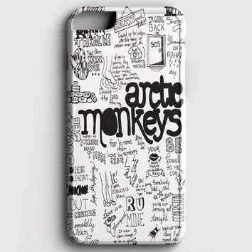 Arctic Monkeys Lyric Cover iPhone 6 Plus/6S Plus Case