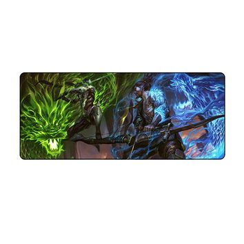 70*30CM Large Overwatch Gaming mouse pad mat Genji mousepad desk mat for OW game gamer Peripheral accessories keyboard pad