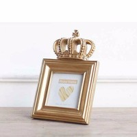Golden crown Style Luxury Picture Frame