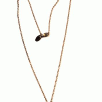 Show off your dainty style with the Brass Tiny Heart Padlock Necklace. This necklace features a thin rolo antique gold brass chain with tiny heart shaped padlock, finished with lobster clasp closure.