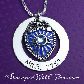 Policemans Wife Necklace