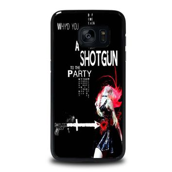 THE PRETTY RECKLESS QUOTES Samsung Galaxy S7 Edge Case Cover