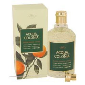 4711 Acqua Colonia Blood Orange & Basil Eau De Cologne Spray (Unisex) By Maurer & Wirtz