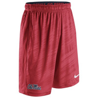 Ole Miss Rebels Nike Warp Speed Fly Performance Shorts – Navy Blue