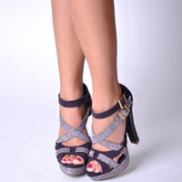 Allesandra Purple | House of Stilettos