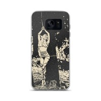 Samsung Galaxy Solid Case - Forest Nymph captive