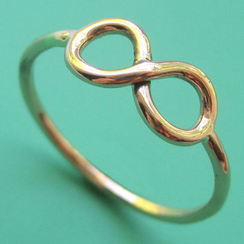 14kt Gold Infinity Ring